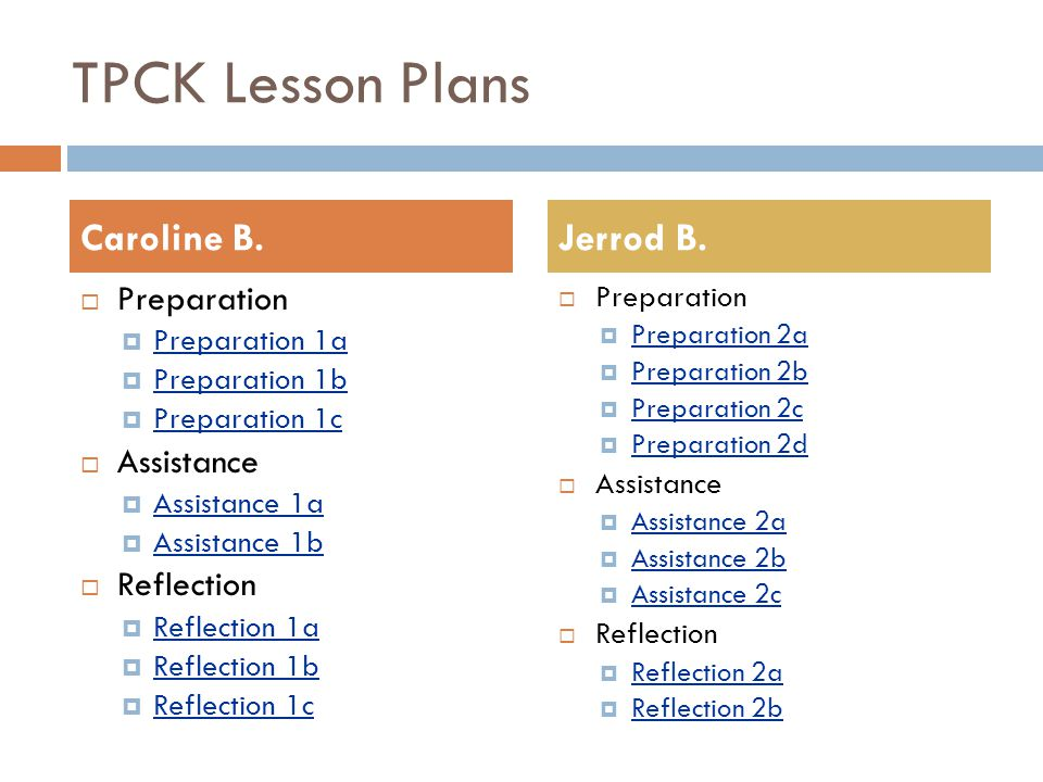 Preparation 1a  At the end of this lesson, students should be able to answer the following: (questions) 1.