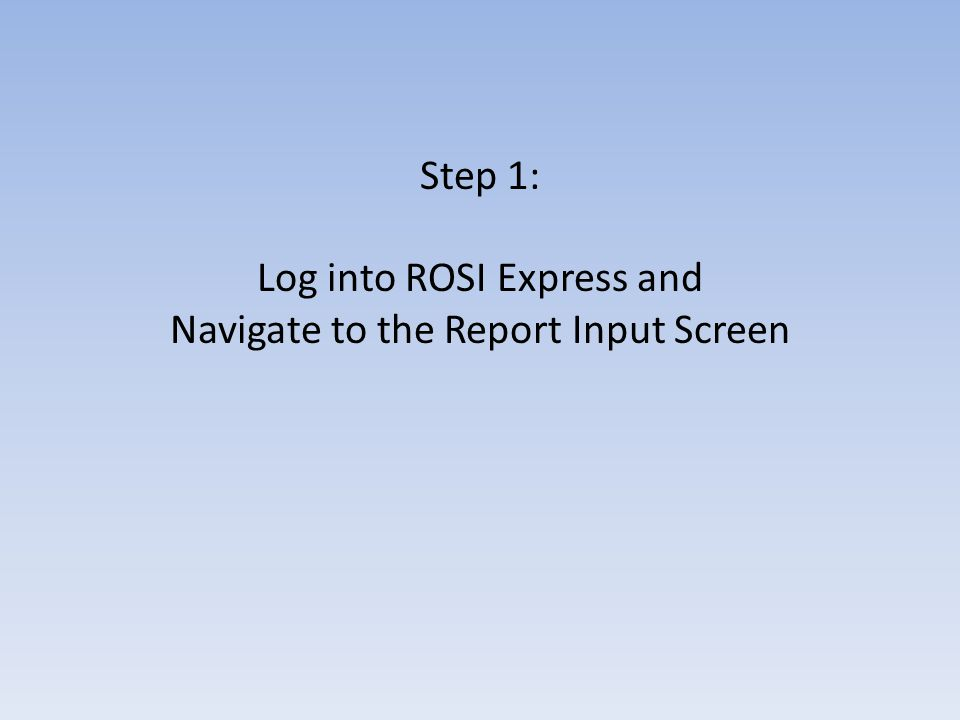 SDSPDAL ****** Go to: https://express.rosi.utoronto.ca, and log in with your normal ROSI Username and SecurID card.