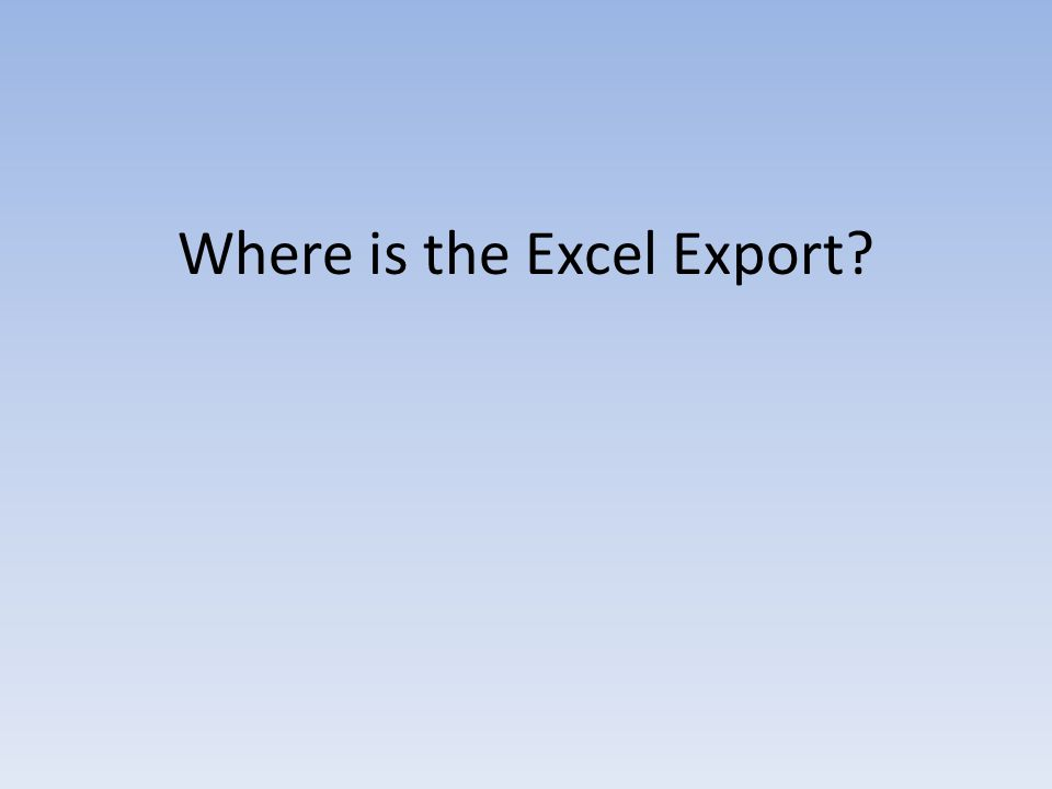 Unlike other ROSI Express reports, you will find that this report does not have the option to be opened as a.CSV file or Excel spreadsheet.