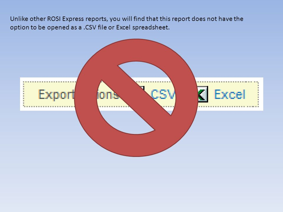 However, if you run the ROSI Express report: Scheduled Courses with Instructor/Coordinator Diagnostics and export that report to Excel, the Evaluation Method and Evaluation Timing values for each course will be included.