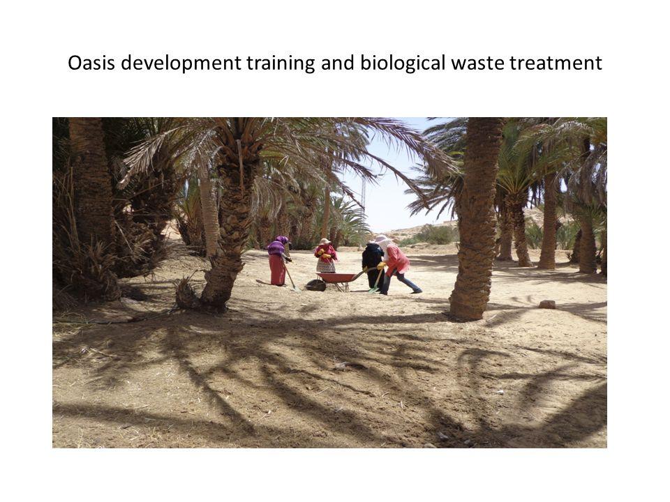 Rural sanitation training
