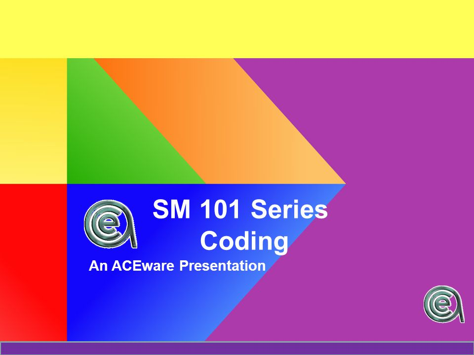 Today we will discuss The Big Picture Coding Rules Some Code Relationships –Subject  Interest Codes –Source  Tracking Here a Code..