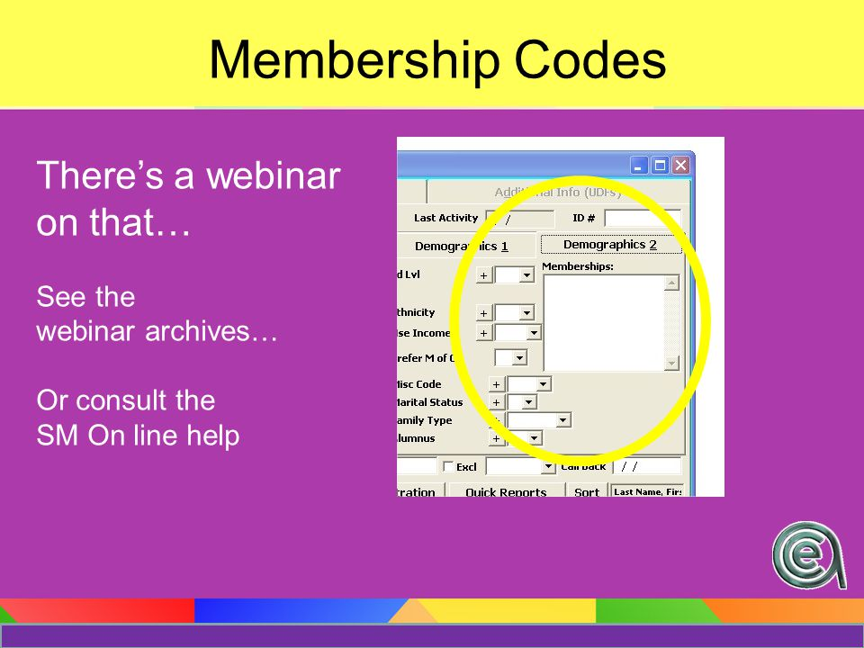 Here a code.. There a code…COURSE User Defined Code(able) Fields