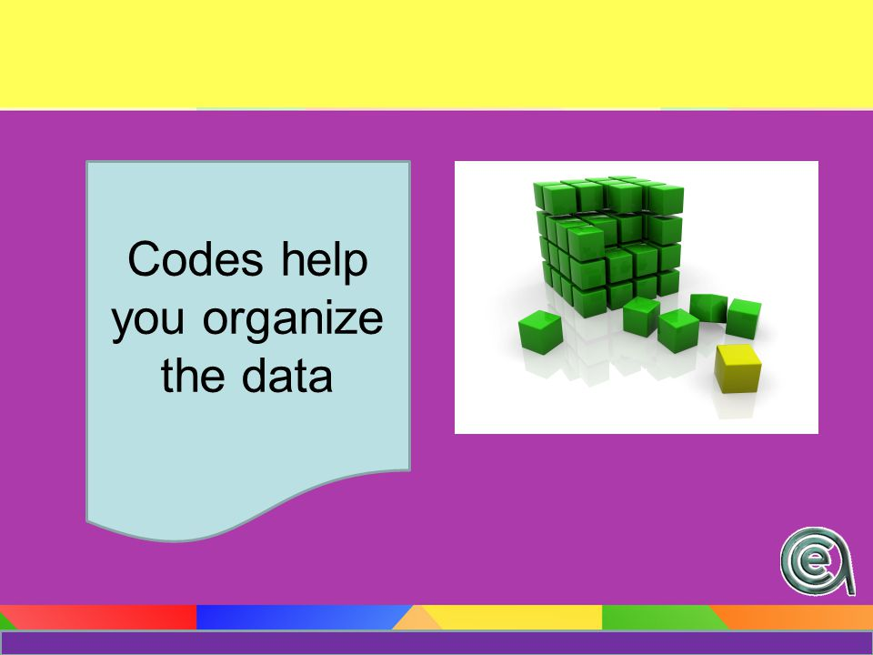 What kinds of questions will good coding help you answer.