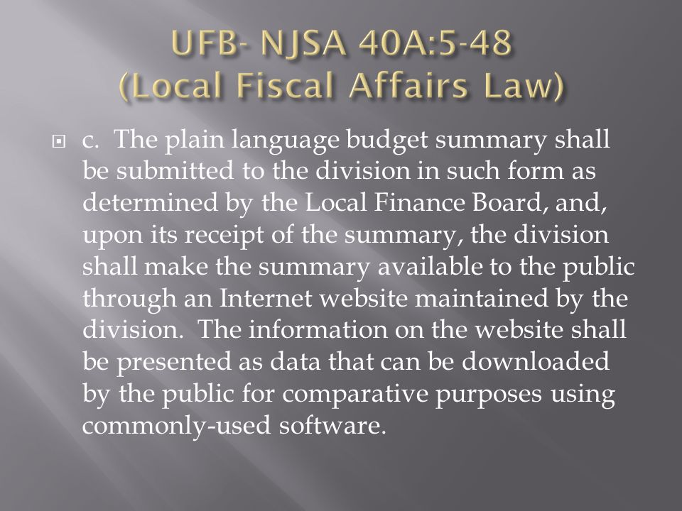  10 fiscal year towns submitted the UFB electronically ( along with a paper copy).