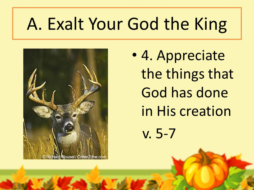 B. Be thankful citizens in God's kingdom 1. Be a recipient of God's grace v. 8,9