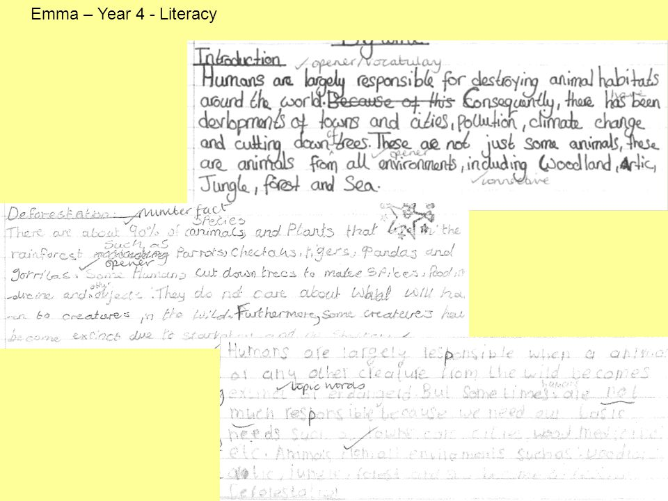 Alison – Responses from the children Feedback from other Year 6 teachers – Children enjoyed the session (P4C) and found it interesting www….