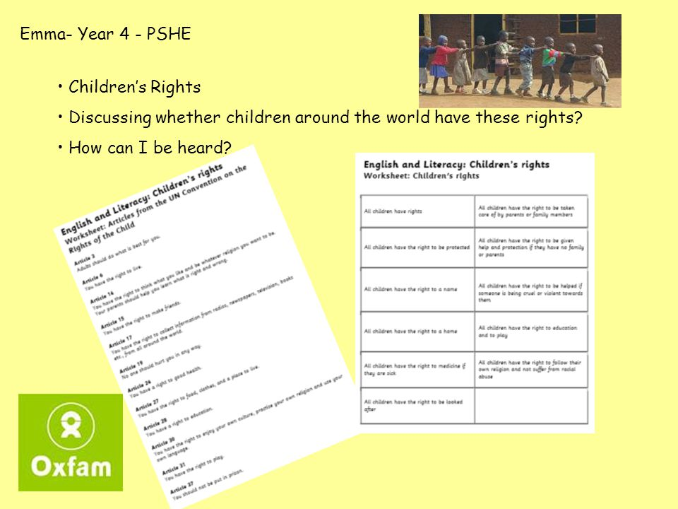 Alison – Year 6 - Topic What is happening in each picture.