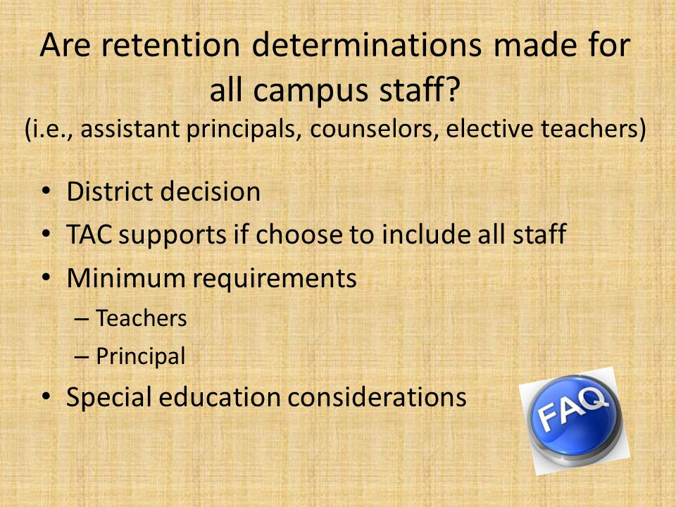 Submission Requirements Principal Principal Retention Framework Summary How going to review Documented in reconstitution plan Decision Teacher Summary How going to review Documented in reconstitution plan Number of retained teachers by subject Number of reassigned teachers by subject Decision How & Draft decisions Final decisions