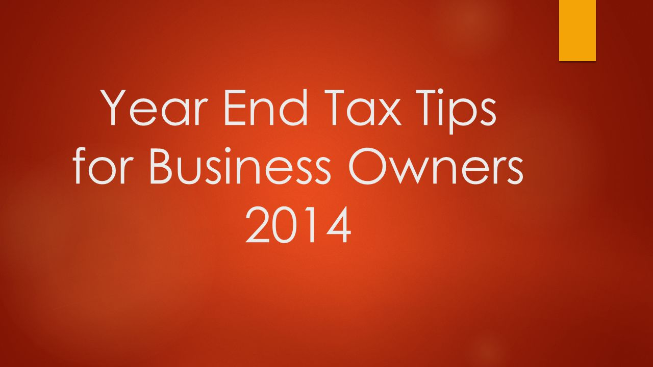 Tax Management is very critical, especially for small and medium-sized business.