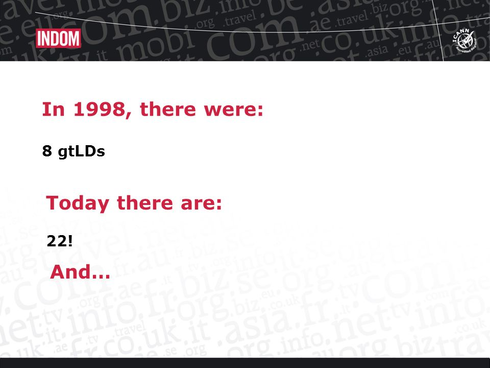 In 1998, the Internet worked fine Today its still works fine !