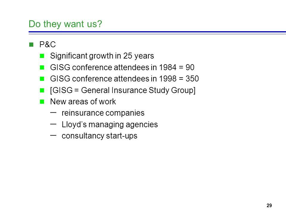 30 Where are UK P&C Actuaries?
