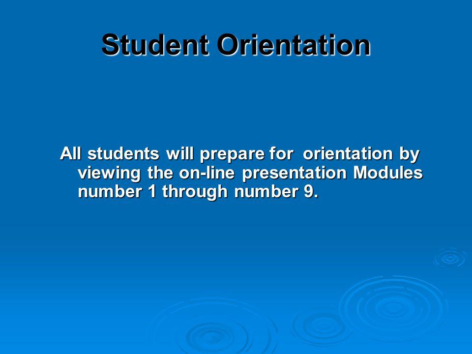 Welcome to UMMMC online student self- directed orientation program.