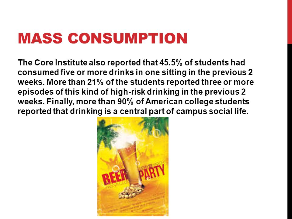 HOW STUDENTS CONSUME