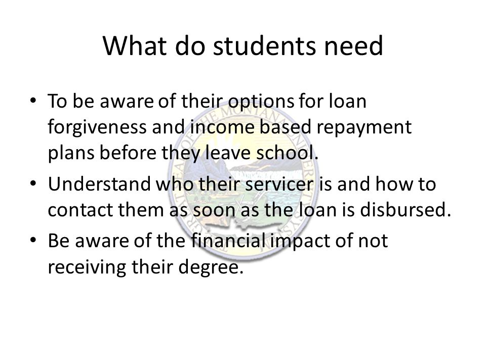 What can students do now.Identify how much they owe in student loans, and who is servicing them.