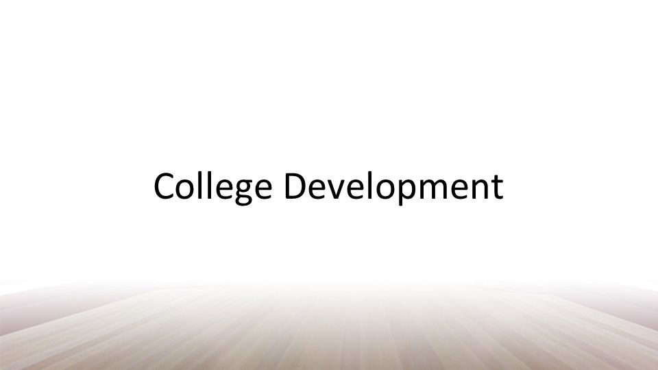 Arthur Chickering Identified seven vectors of development through the college years Chickering, 1993