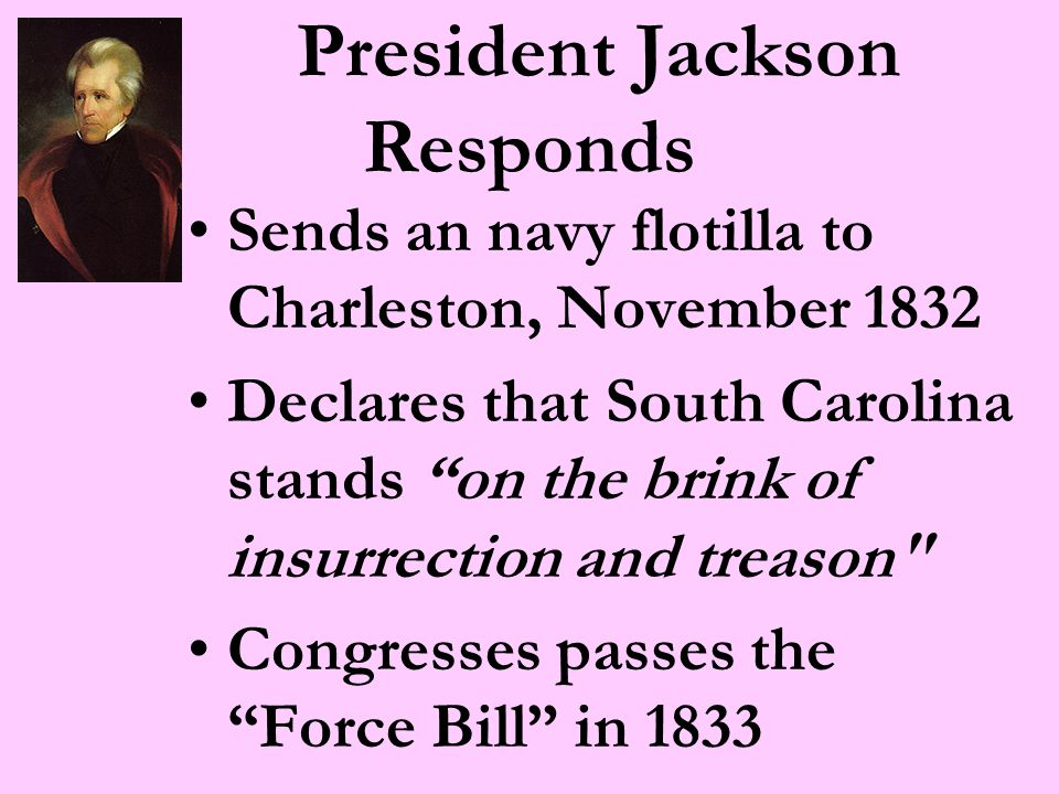 Seduced as you have been, my fellow countrymen by the delusion theories and misrepresentation of ambitious, deluded & designing men, I call upon you in the language of truth, and with the feelings of a Father to retrace your steps. - President Andrew Jackson