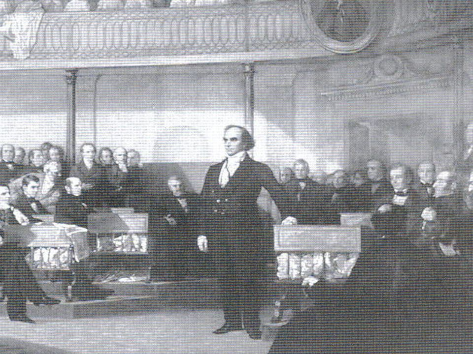 Compromise Tariff of 1833 Proposed by the Great Compromiser, Senator Henry Clay of Kentucky Agreed to by John Calhoun South Carolina repeals it's nullification of the Force Bill on the same day.