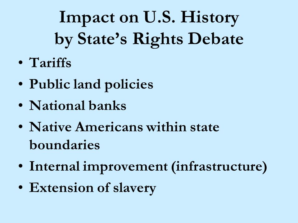 A Deep Rooted History Regional colonial differences Confederal philosophy fear of strong central government Constitutional Convention & ratification fight Hamiltonians versus Jeffersonians