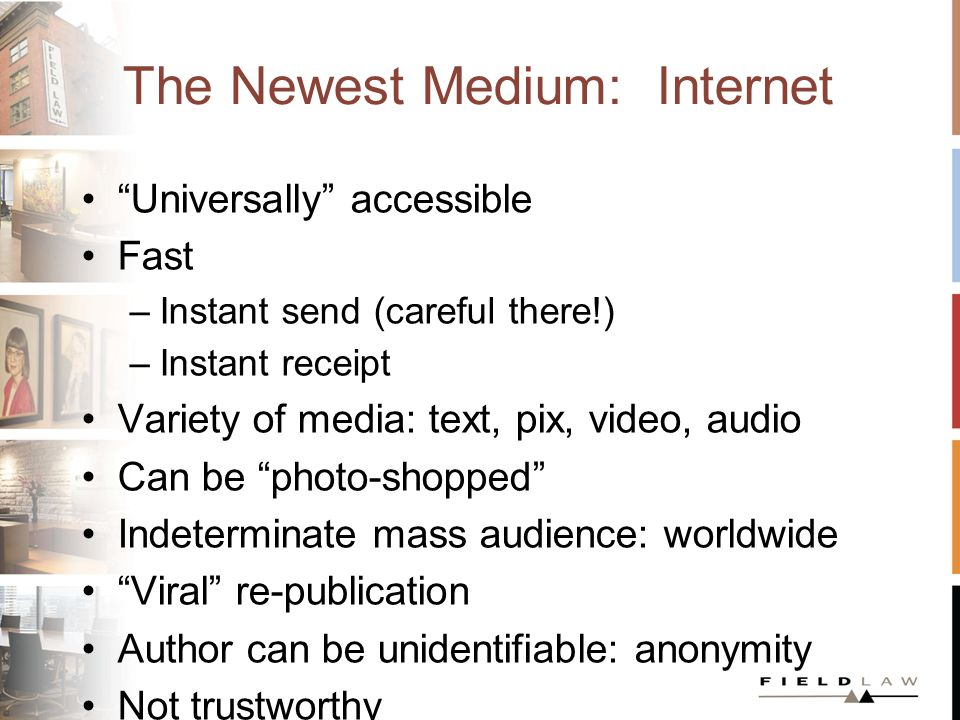 Intersection: Internet and the Law Paging Dr.Freud.