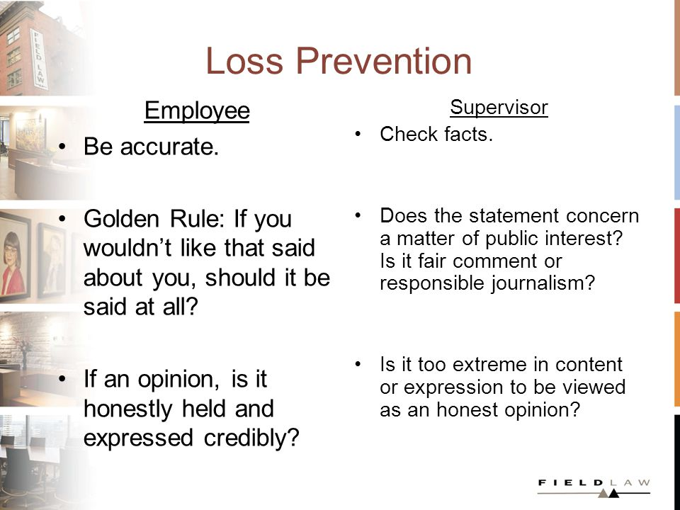This presentation will be available for download.www.fieldlaw.com People Dan Carroll, Q.C.