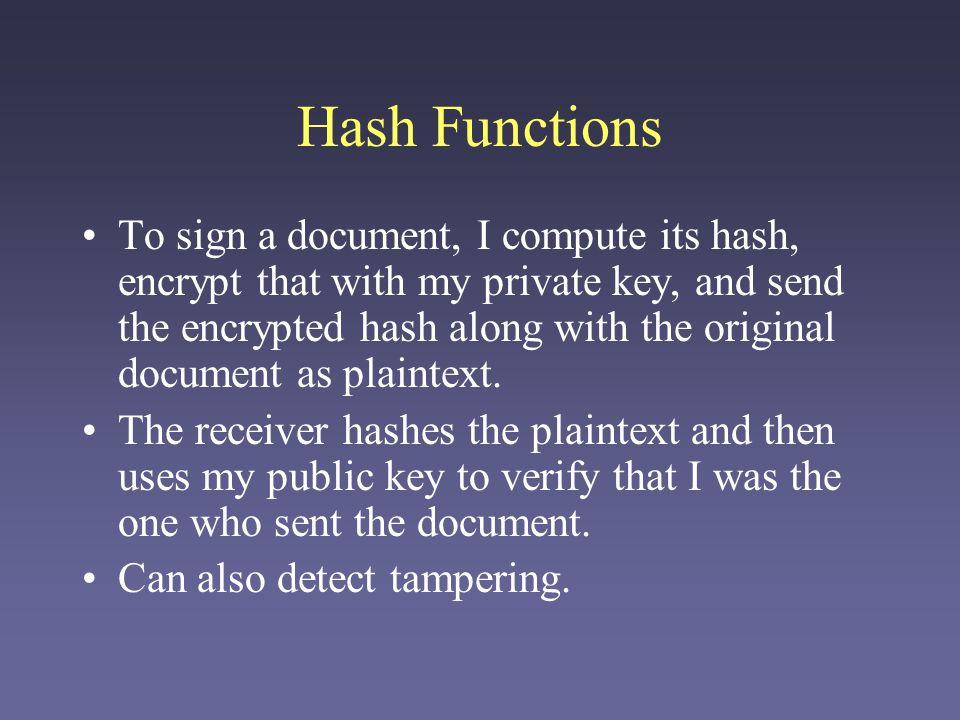 Combining Public and Secret Keys Public-key encryption is often used to synchronize secret session keys.