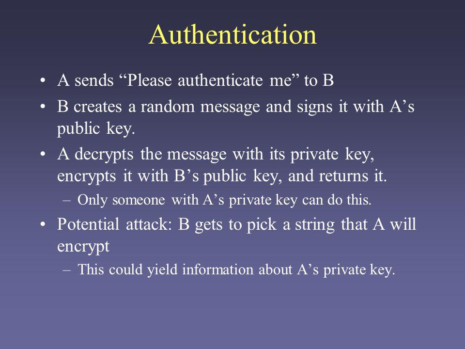 Zero-knowledge Protocols One application of public-key cryptography is zero-knowledge protocols.