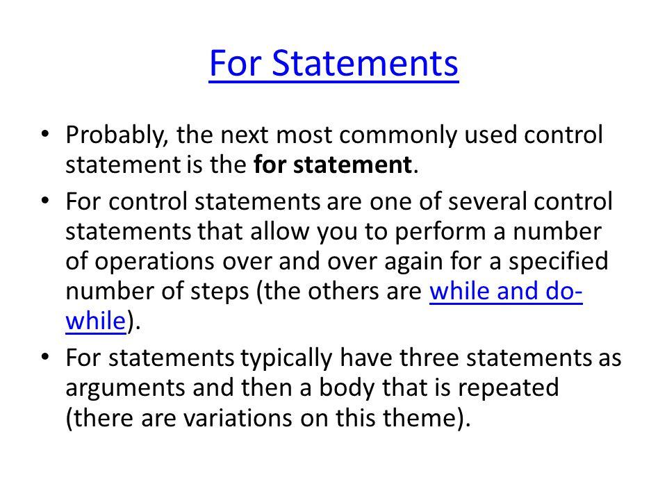 A common form Modifier Arguments Body