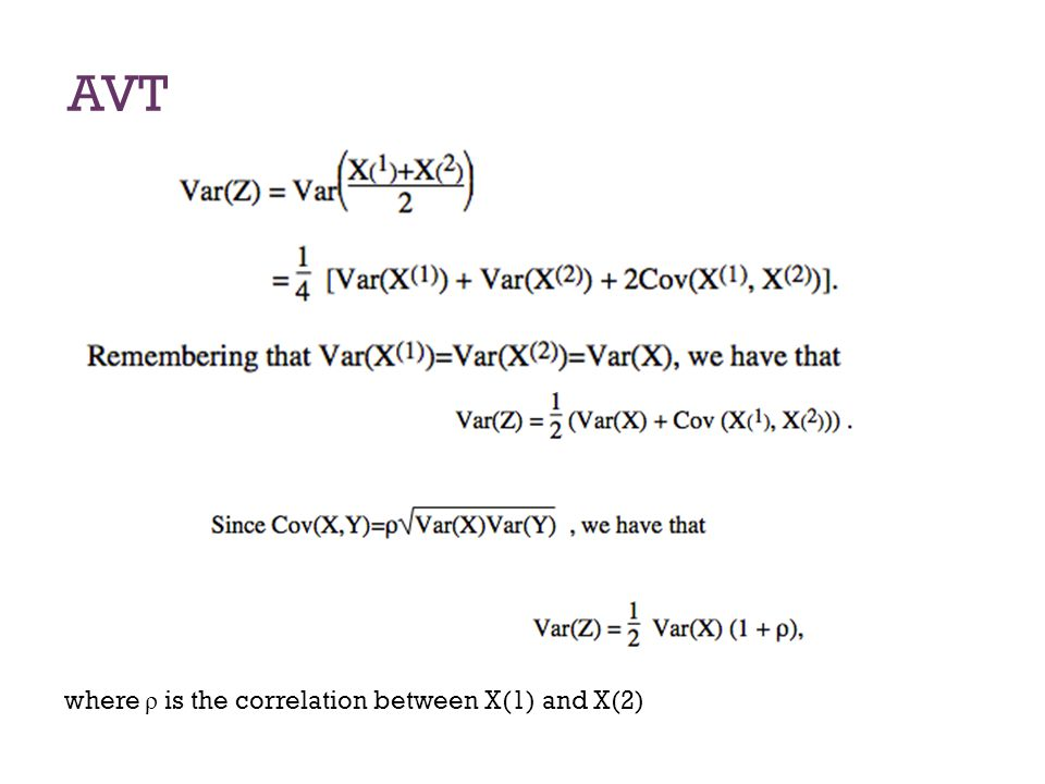 AVT In order to construct an interval estimate of E(X), we use random variable Z.