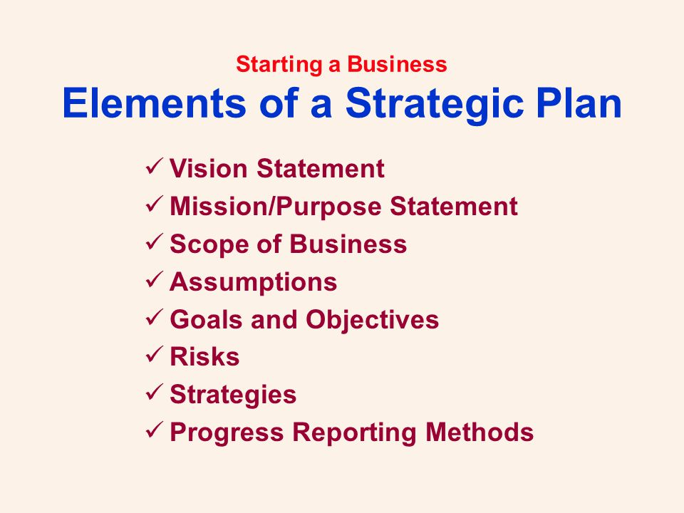 Starting a Business.Let Us Help You... Robert H.