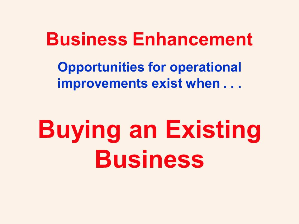You are buying a business and a lifestyle.Have the seller finance some of the purchase.