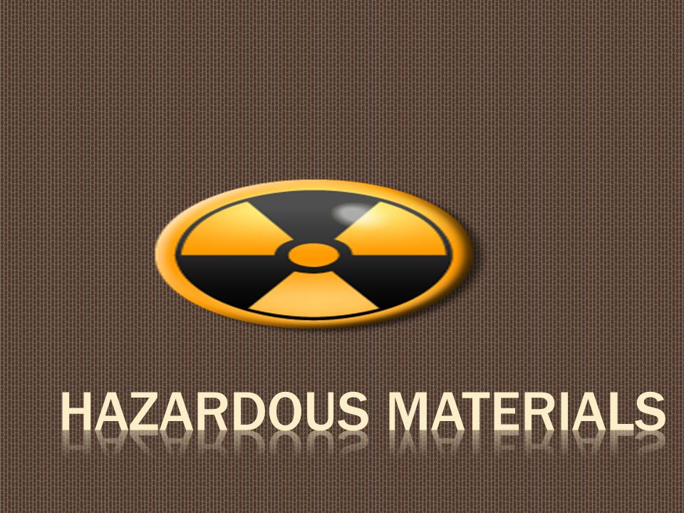  Knowledge of the proper procedures in the special handling, use, storage, and disposal of hazardous materials and wastes