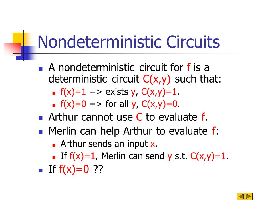 Pairs of Nondeterministic Circuits By our assumption EXP  NP/poly.
