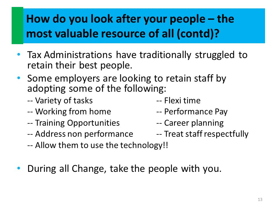 Summary Most Organizations have consolidation / optimization programs in place.