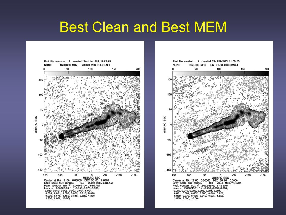 Model, PSF, Dirty image, CLEAN, MEM, Multi-scale CLEAN