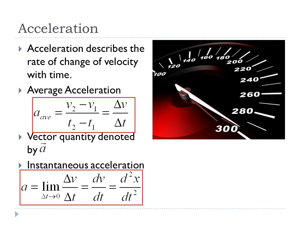 WARNING  Just because acceleration is positive (negative) does not mean that velocity is also positive (negative).