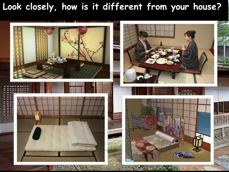 Let's go inside a Japanese home and see what it looks like.