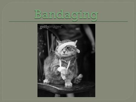 Bandaging. Bandaging Purpose Hemostasis Prevent excessive post-op edema Decreases hematoma formation  Decreases dead space.