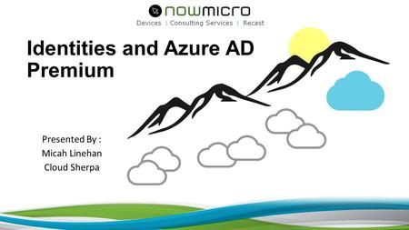 Identities and Azure AD Premium