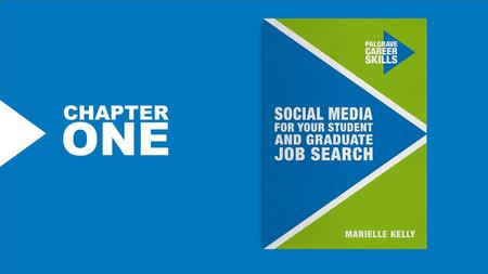 CHAPTER ONE. SOCIAL MEDIA using it to locate new hires 94% of 18 to 34 year-olds found their last job through a social network 73% over 50% of employers.