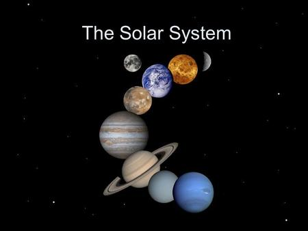 The Solar System Overview There are nine planets in our solar system that orbit around the Sun SUN ORBITS.