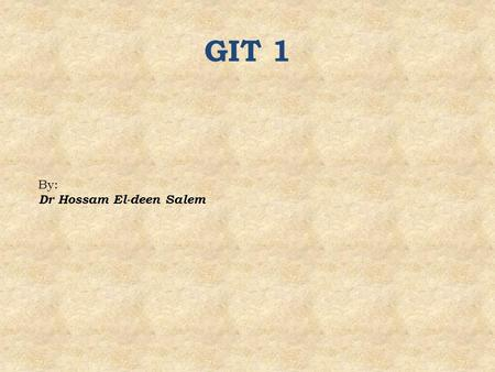 GIT 1 By: Dr Hossam El-deen Salem. The subdivisions of the tongue are based on embryologic origins: Anterior two-thirds (body) posterior one-third (root)