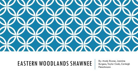 Eastern Woodlands Shawnee