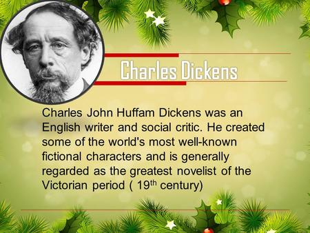 charles dickens 6 essay The writer charles dickens created some of the most memorable fictional stories and is generally regarded as the greatest novelist of the victorian period.