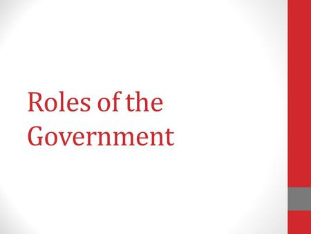 Roles of the Government Premier A premier is the head of government of a province or territory. There are currently ten provincial premiers and three.