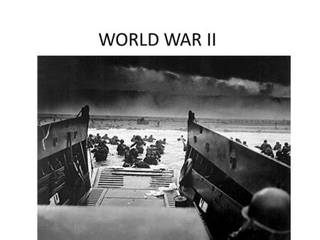 WORLD WAR II. Fascism+Questions A political system that relies on extreme nationalism, militarism and a strong dictator. Where do we see World War II's.