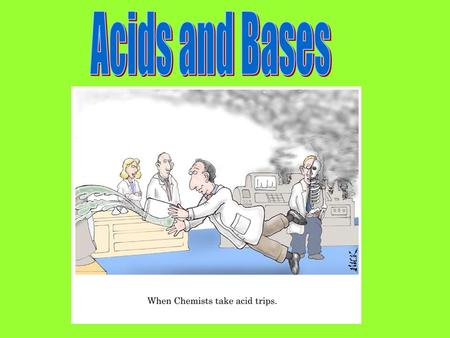Definition of Acids Traditional (Arrhenius)- a chemical compound that contains hydrogen and ionizes in aqueous solutions to form hydrogen ions Examples: