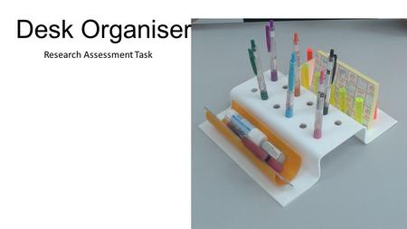 Research Assessment Task