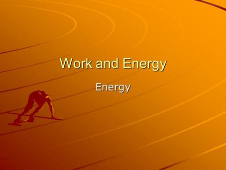 Work and Energy Energy. Kinetic Energy Kinetic energy – energy of an object due to its motion Kinetic energy depends on speed and mass Kinetic energy.