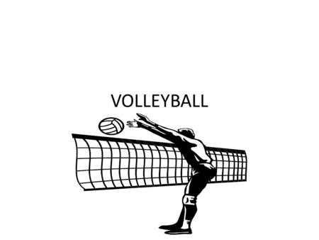 VOLLEYBALL. Terminology Pass – Bump – Set Spike Serve Lift Carry Double hit.